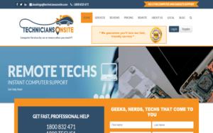 Technicians Onsite