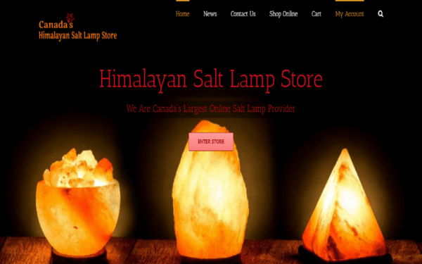 Himalayan Pink Salt Lamps Canada Buy Salt Rock Lamp Online