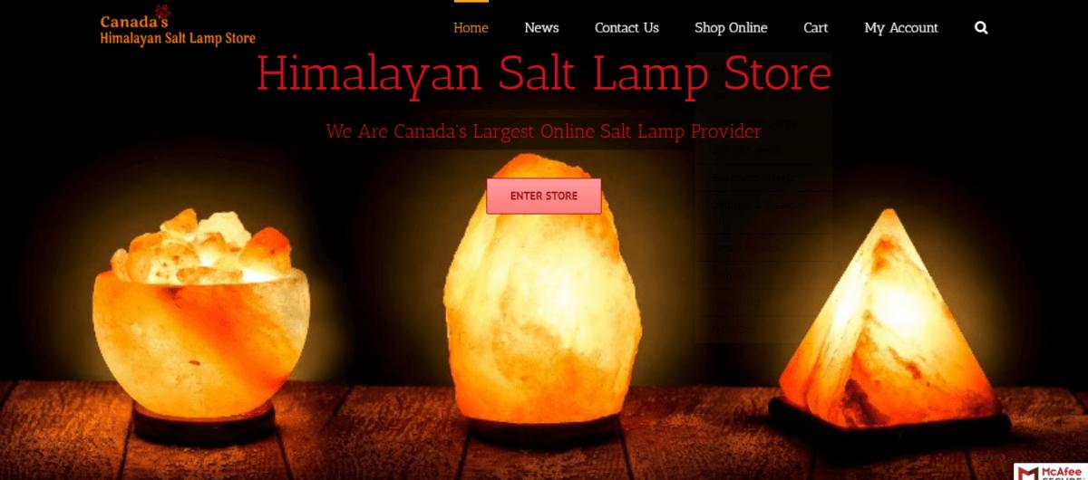 Himalayan Pink Salt Lamps Canada Buy Salt Rock Lamp Online