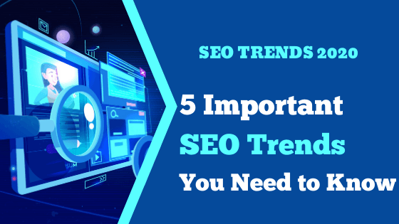 5 Important SEO trends
